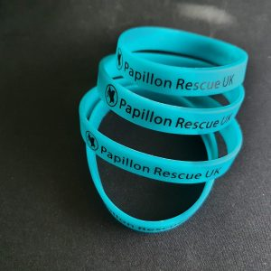 Papillon Rescue UK wristbands